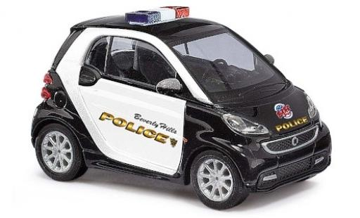Smart ForTwo 1/87 Busch Fortwo Beverly Hills Police 2012 miniature