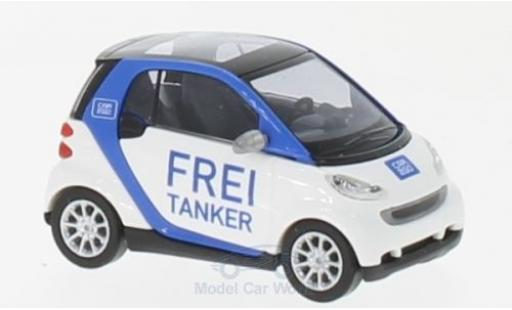 Smart ForTwo 1/87 Busch Fortwo Frei Tanker 2007 Car2go miniature