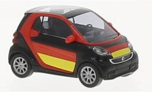 Smart ForTwo 1/87 Busch Fortwo Fußball Fan 2012 miniature