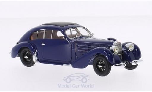 Bugatti 57 S 1/43 Chromes T / 64 bleue RHD 1939 sn 625 miniature