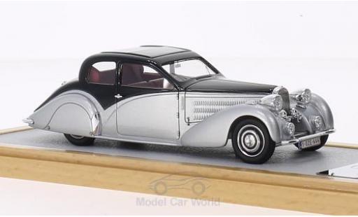 Bugatti 57 SC 1/43 Chromes Type Coach Ventoux Gangloff Speciale Roussel noire/grise RHD 1937 miniature