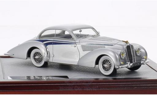 Delahaye 135 1/43 Chromes MS Coupé Langenthal grey/blue 1947 sn800490 diecast model cars