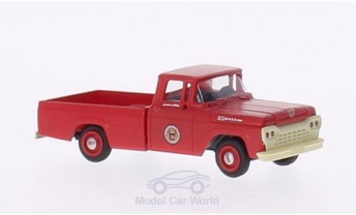 Ford F-1 1/87 Classic Metal Works 00 Pennsylvania Rail Road 1960 mit Hy-Line-Gleisaufsatzrädern miniatura