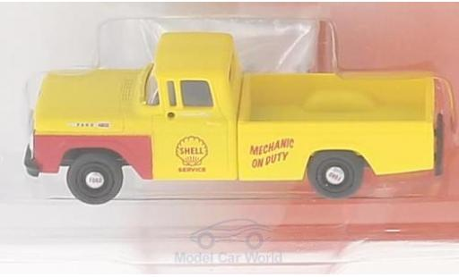 Ford F-1 1/87 Classic Metal Works 00 Pick Up yellow Shell Oil Service 1960 diecast
