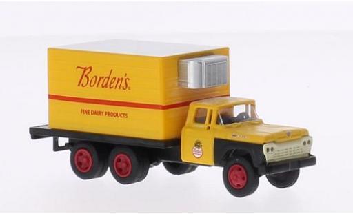 Ford F-500 1/87 Classic Metal Works Box Truck Bordens 1960 miniature
