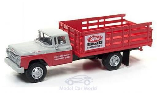 Ford Stake Bed Truck 1/87 Classic Metal Works rouge/grise Tractor Parts 1960 miniature