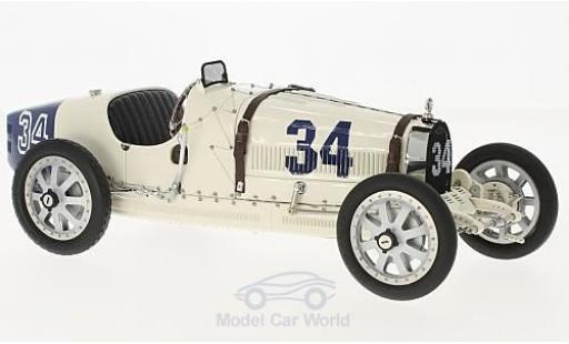 Bugatti 35 1/18 CMC T Grand Prix No.34 Nation Colour Projekt USA ohne Vitrine miniature