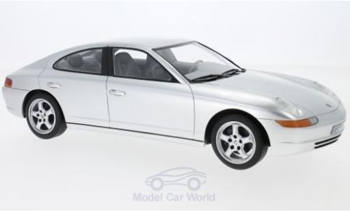 Porsche 989 1/18 CMF Prougeotyp grise 1988 miniature