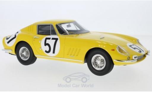 Ferrari 275 1966 1/18 CMR GTB No.57 24h Le Mans 1966 P.Noblet/C.Dubois miniature