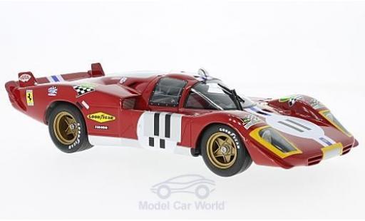 Ferrari 512 1/18 CMR S No.11 24h Le Mans 1970 R.Bucknum/S.Posey miniature