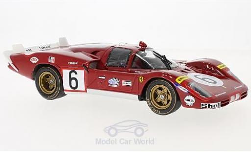 Ferrari 512 1/18 CMR S Long Tail No.6 24h Le Mans 1970 N.Vaccarella/I.Giunti miniature