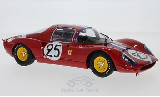 Ferrari Dino 1/18 CMR 206 S No.25 24h Le Mans 1966 N.Vaccarella/M.Casoni miniature