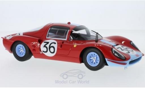 Ferrari Dino 1/18 CMR 206 S No.36 Maranello Concessionaires 24h Le Mans 1966 M.Salmon/D.Hobbs miniature