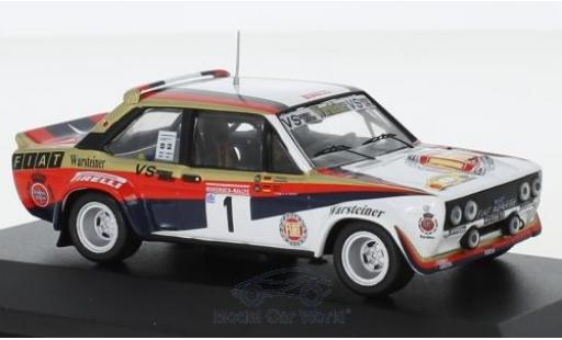 Fiat 131 1/43 CMR Abarth No.1 Warsteiner Rallye DM Hunsrück Rallye 1980 W.Röhrl/C.Geistdörfer diecast