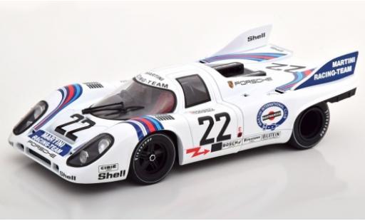 Porsche 917 1/18 CMR K No.22 Martini 24h Le Mans 1971 H.Marko/G.van Lennep