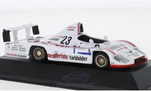 Porsche 936 1/43 CMR No.23 Kremer Racing Meisterfoto Farbbilder DRM Hockenheim 1982 mit Decals S.Bellof diecast