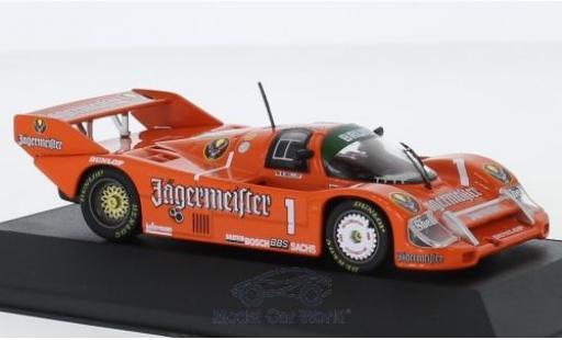 Porsche 956 1985 1/43 CMR B No.1 Jägermeister DRM 200 Meilen Norisring S.Bellof miniature