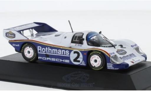 Porsche 956 1/43 CMR K No.2 Rothmans 1000 Km Fuji 1984 S.Bellof/J.Watson modellautos