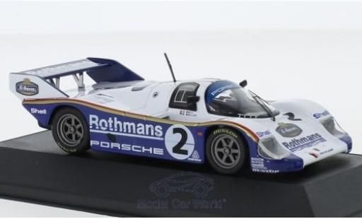Porsche 956 1984 1/43 CMR K No.2 Rothmans 1000 Km Sandown Park S.Bellof/D.Bell miniature