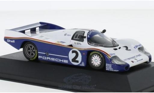 Porsche 956 1983 1/43 CMR L No.2 Rothmans 24h Le Mans mit Decals S.Bellof/J.Mass miniature