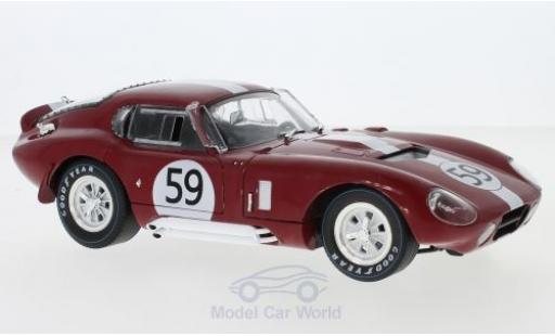 Shelby Cobra 1/18 CMR Daytona Coupe No.59 24h Le Mans 1965 P.Harper/P.Sutcliffe miniature