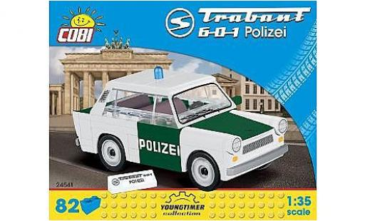 Trabant 601 1/35 Cobi Polizei Bausteine Anzahl le Blöcke: 82 miniature