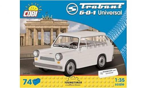 Trabant 601 1/35 Cobi Universal blanche Bausteine Anzahl le Blöcke: 74 miniature