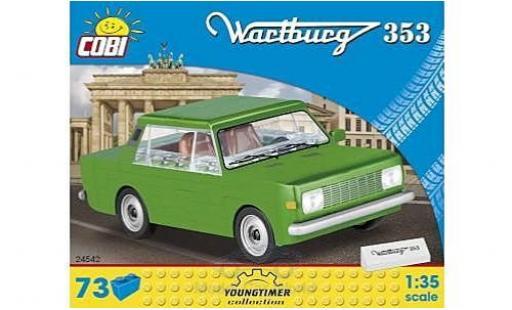 Wartburg 353 1/35 Cobi grün Bausteine Anzahl der Blöcke: 73