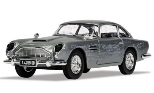 Aston Martin DB5 1/36 Corgi grise RHD James Bond 007 No Time To la avec Einsatzspuren miniature