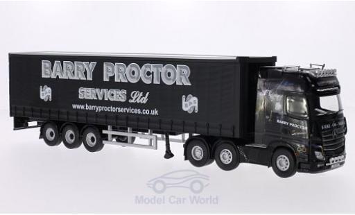 Mercedes Actros 1/50 Corgi (MP4) RHD Barry Proctor Gardinenplanensattelzug miniature