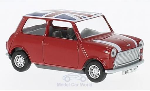 Mini Cooper 1/0 Corgi rot/Dekor RHD modellautos