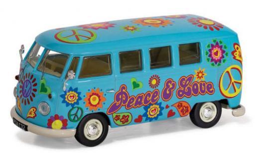 Volkswagen T1 1/43 Corgi Camper Peace Love & Freedom