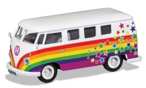 Volkswagen T1 1/43 Corgi Camper Peace Love & Wishes miniature