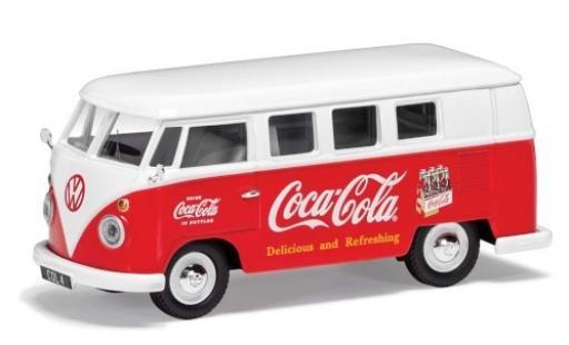Volkswagen T1 1/43 Corgi rot/weiss Coca Cola 1960 modellautos
