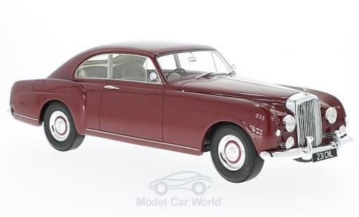Bentley S1 1/18 Cult Scale Models Continental Fastback Mulliner metallise rouge RHD ohne Vitrine miniature