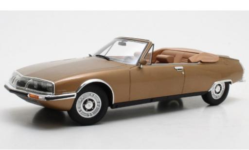 Citroen SM 1/18 Cult Scale Models Mylord Chapron gold 1971 miniature