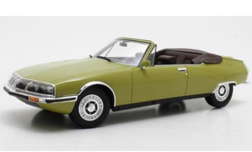 Citroen SM 1/18 Cult Scale Models Mylord Chapron metallise verte 1971