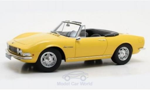 Fiat Dino 1/18 Cult Scale Models Spyder jaune 1966 miniature