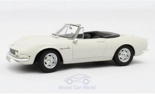 Fiat Dino 1/18 Cult Scale Models Spyder blanche 1966 miniature