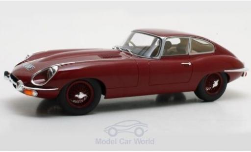Jaguar E-Type 1/18 Cult Scale Models Coupe Series 2 rouge RHD 1968 miniature