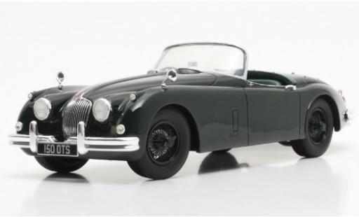 Jaguar XK 1/18 Cult Scale Models 150 OTS verte RHD 1958