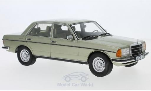 Mercedes 280 1/18 Cult Scale Models E (W123) metallise verte 1976 miniature