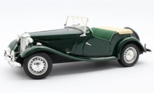 MG TD 1/18 Cult Scale Models green RHD 1953 diecast model cars