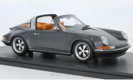 Porsche 911 1/18 Cult Scale Models Targa metallic grey Singer