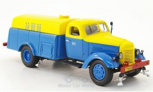 Zis 150 1/43 DIP Models ZIS PM-8 bleue/jaune Straßenreinigung miniature