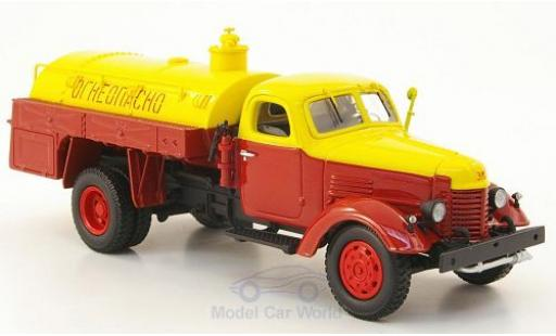 Zis 150 1/43 DIP Models ZIS rouge/jaune Tankwagen miniature