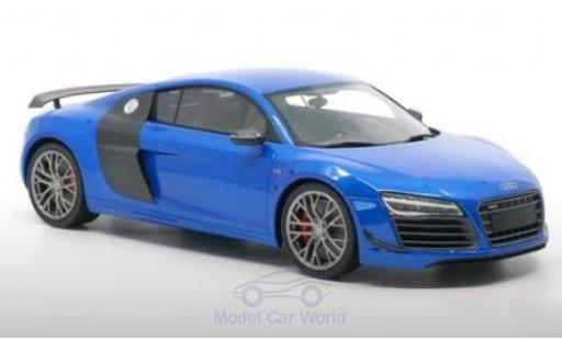 Audi R8 1/18 DNA Collectibles LMX metallise bleue 2014 miniature