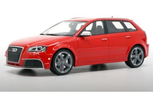 Audi RS3 1/18 DNA Collectibles Sportback (8P) red 2011 avec gris jantes diecast model cars