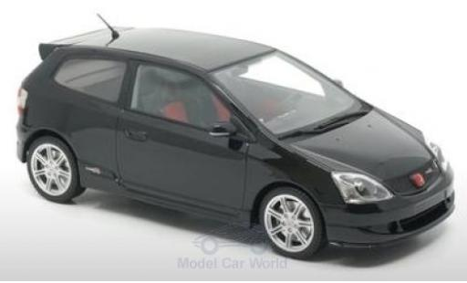 Honda Civic 1/18 DNA Collectibles Type-R (EP3) noire 2004 miniature