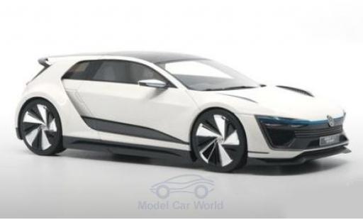 Volkswagen Golf 1/18 DNA Collectibles GTE Sport Concept weiss 2015 modellautos